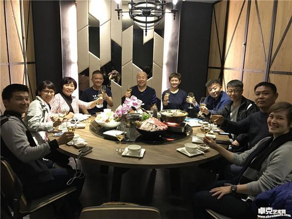 台湾展览~主办方欢迎晚宴